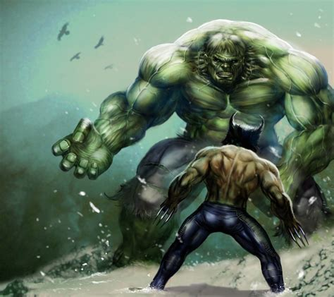 imagenes wolverine vs hulk mcu and x men join forces marvel movie magic