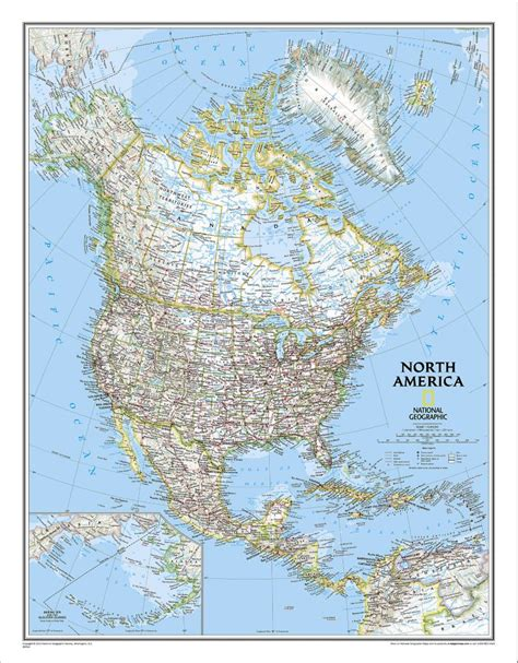 map geo america classic wall map national geographic store