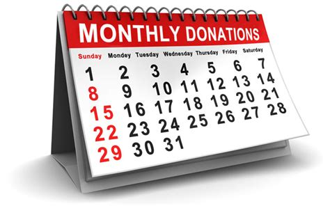 Will Calendar Become A Become A Monthly Donor Community Living Mississauga
