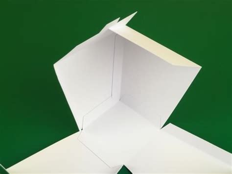 Origami Takeout Box - take out box template diy gift