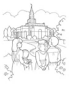 Primary Coloring Pages Lds lds coloring pages jesus calms the free