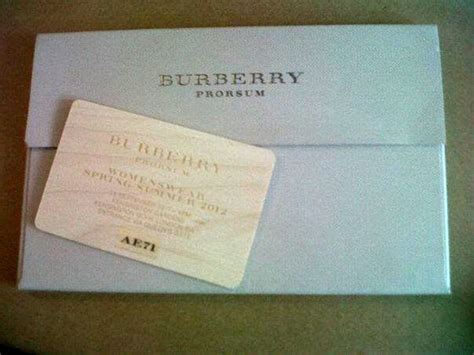 Burberry Gift Card - burberry gift card packaging parcels l b pinterest