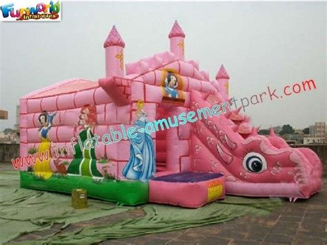 bounce house games commercial durable inflatable bouncer slide princess bounce house with slide games