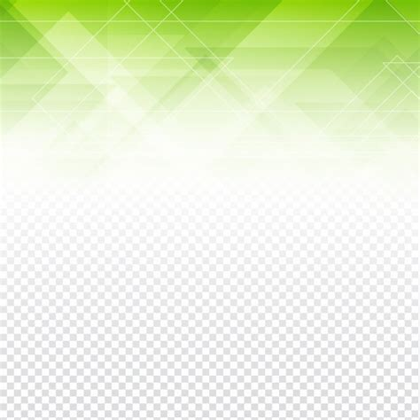 transparent background image green polygonal abstract shapes with a transparent
