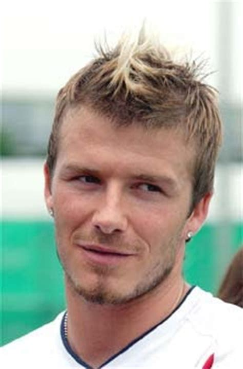 david beckham hairstyles spiky messy mohican david beckham s short mohawk faux hawk messy hairstyle