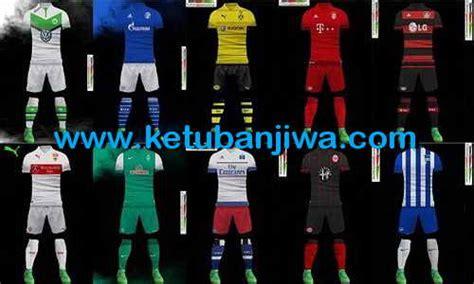 desain keren kit jersey pes2013 pes 2013 bundesliga kitpack 15 16 by sha boss