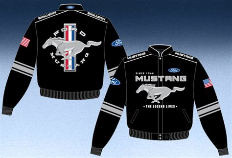 pin ford mustang jackets for on