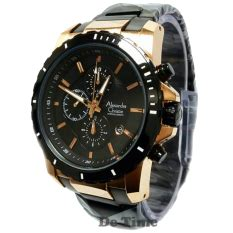 Alexandre Christie 6141 Hitam Gold jual jam tangan alexandre christie original lazada co id