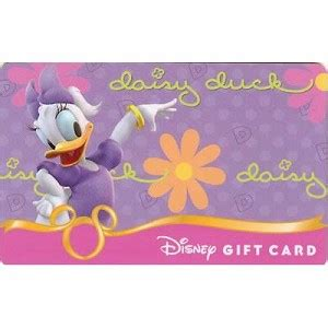 Gift Cards Fab - your wdw store disney collectible gift card fab six daisy