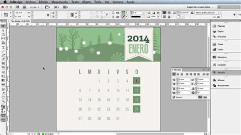 in design tutorial indonesia indesign da kolay takvim hazirlama doovi