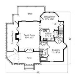 Cottage Floorplans by Small Cottage Floor Plans Compact Designs For