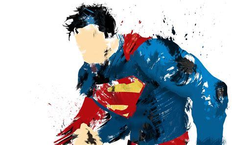 superman painting superman of steel painted wallpaper digitalart io