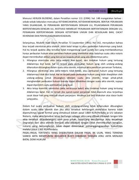 syarat membuat cv di notaris kebatalan dan degradasi akta notaris