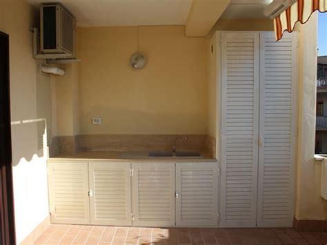 lavandino per terrazzo cucine in alluminio per esterni alfa