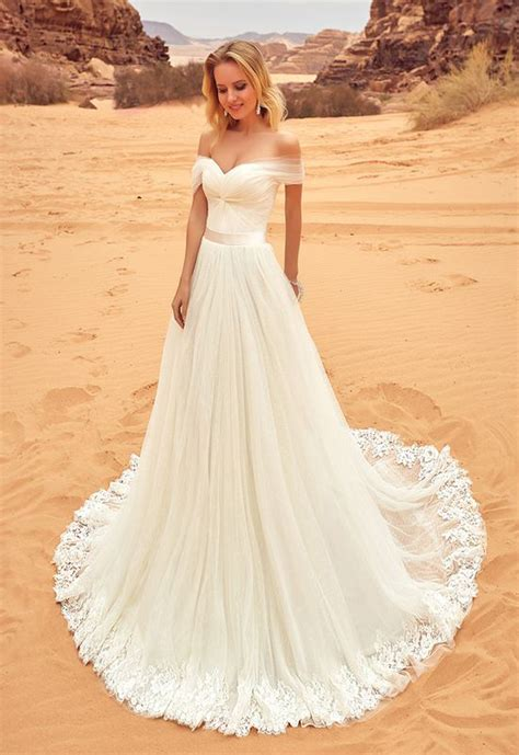 Modest Bridal Gowns by Ivory Wedding Dress Lace Wedding Dresses Shoulder