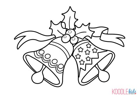 coloring pages of christmas bells best photos of jingle bell drawing how to draw christmas