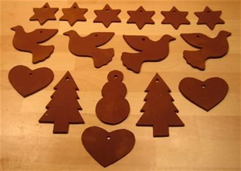 diy cinnamon dough ornaments recipe  templates