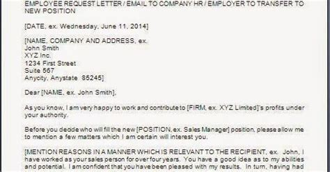 Location Transfer Request Letter Format Every Bit Of Location Transfer Request Letter