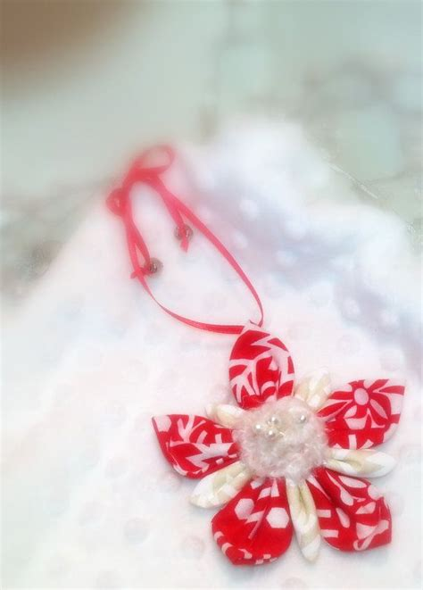 christmas ornament handmade fabric ornament make it