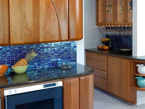 blue mosaic tile kitchen backsplash home design ideas