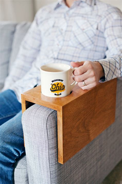 Wooden Sofa Sleeve with Cup Holder ? A Beautiful Mess