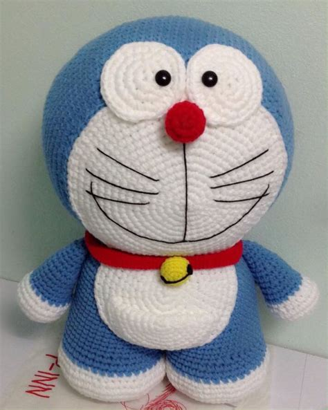 pattern crochet doraemon 12 best doraemon images on pinterest amigurumi free