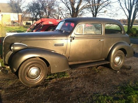 1939 Pontiac Sedan 1939 Pontiac 2 Door Sedan Original Survivor Barn Find For