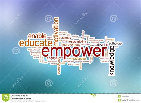 empower your purpose 7 to achieve success and fulfill your destiny books empower word cloud stock photo image 49594845