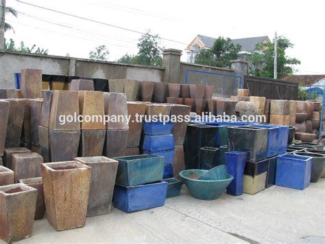 Mexican Vases Wholesale Wholesale Egg Round Dark Clay Vase Rustic Copper Pots