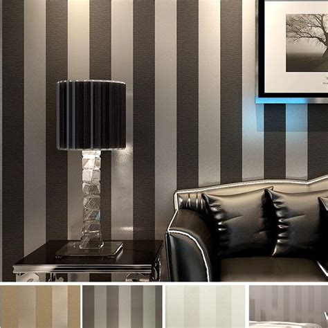 moderne schlafzimmer accessoires modern black wallpaper striped purple and silver glitter