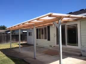 Simple Awning Design Exterior Simple Wood Awning With 4 Columns As Front Porch