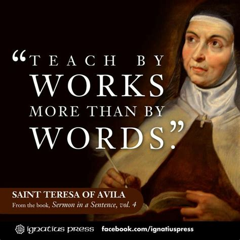 impossible saints a novel books quotes by teresa of avila like success
