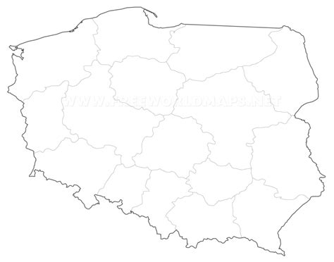 printable map of poland printable maps poland outline pictures to pin on pinterest pinsdaddy