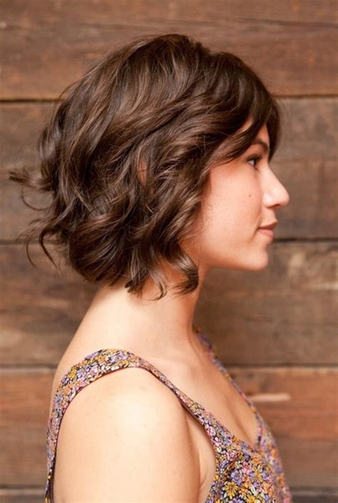 hair cuts for slightly wavy hair 20 trendy short haircuts hairstyles for wavy hair popular haircuts