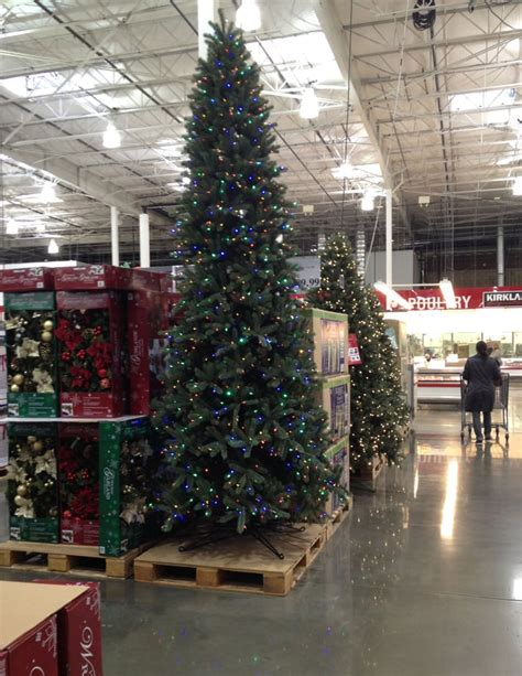 which costcos have live christmas trees this is the 12 ft pre lit dual color led ez connect artificial tree yelp