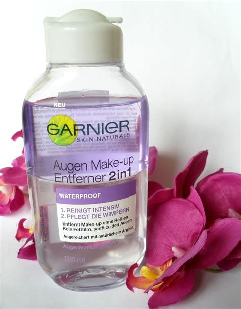 Pembersih Make Up Garnier Garnier Augen Make Up Entferner 2 In 1 Yve