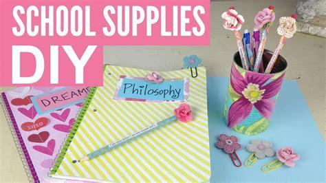 diy school supplies for diy school supplies and easy by michele baratta