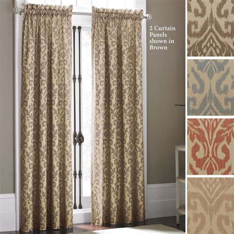 panel curtains takin ikat curtain panels by croscill