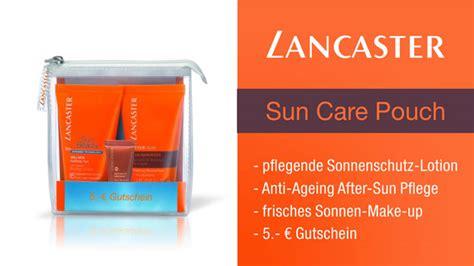 Lancaster Pouch lancaster sun care sun pouch set inkl 5 gutschein
