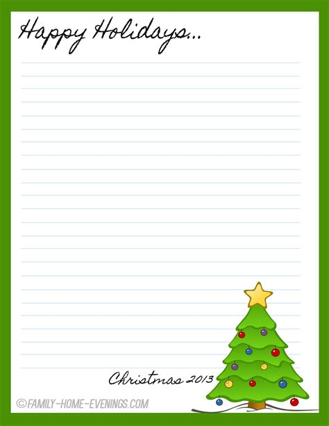 free printable xmas letters photo downloadable page borders for microsoft word images