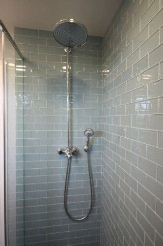 Waterfall Shower Doors Subway Tiles Tile And Gray Subway Tiles On