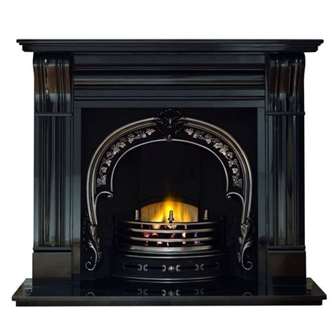 Fireplace Corbels by Gallery Dublin Corbel 60 Quot Black Granite Fireplace With