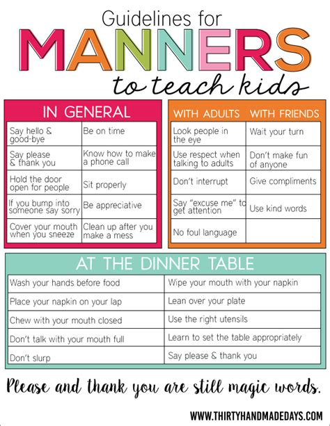 what time should a 2 year old go to bed kindergarten and mooneyisms guidelines for manners to