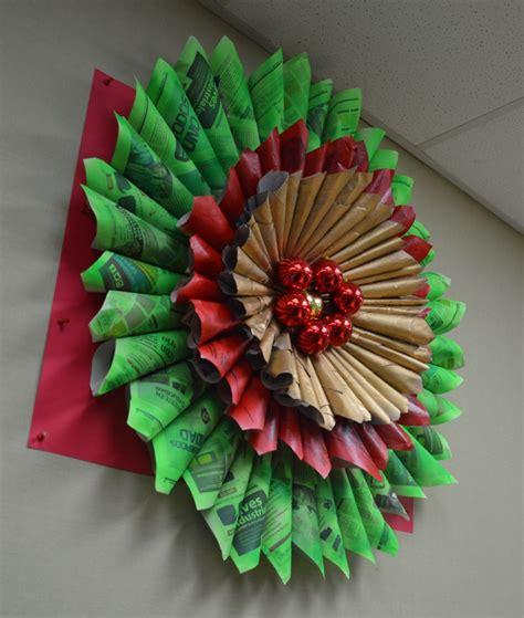 imgenes de adornos de navidad con material de provecho decoracion navidad reciclada manualidades