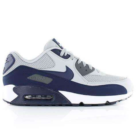 nike air max 90 essential wolf grey binary blue grey