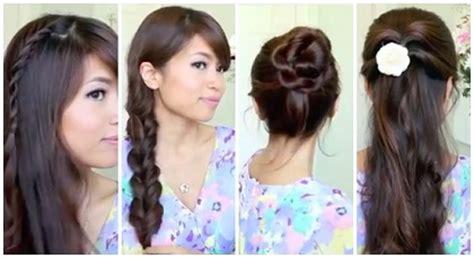 tutorial rambut yang mudah dan simple tutorial rambut mudah dan simple untuk sekolah atau kuliah 2