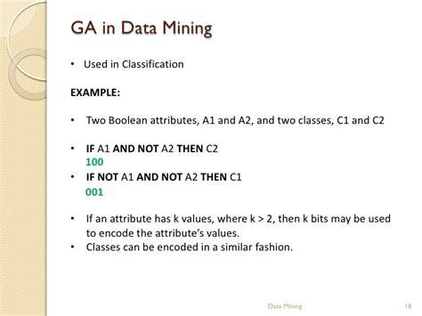 pattern classification using genetic algorithms genetic algorithms