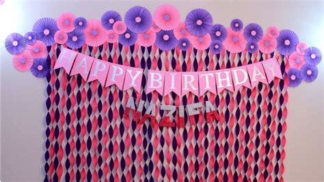 birthday decoration ideas at home decorations for baby