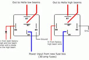 12 volt relay wiring diagram 4 pole wedocable
