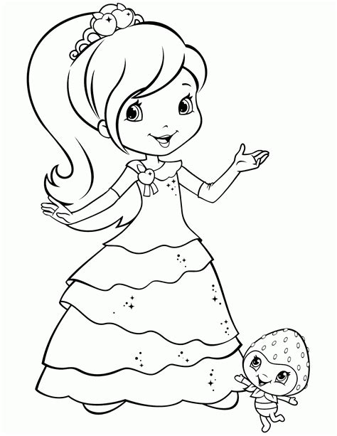 cake with a delicious strawberry coloring book pages coloring pages of strawberry short cake coloring home